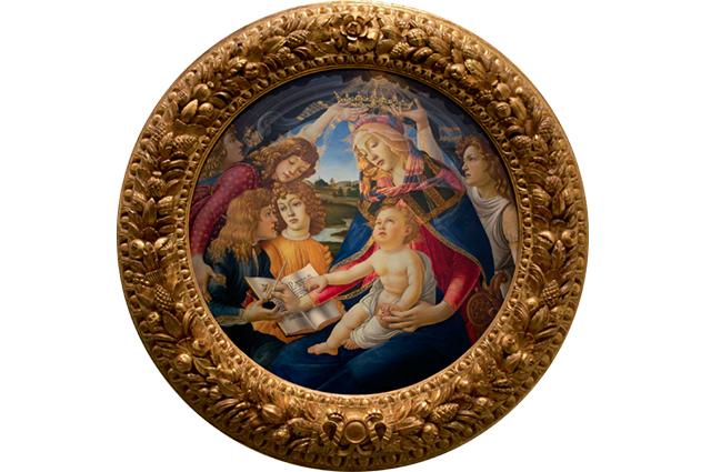 Esta imagem de Nossa Senhora com Jesus foi criada na Idade Média