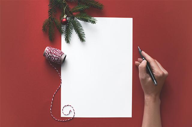 Para o cartão de Natal e Ano Novo é importante selecionar mensagens inspiradoras