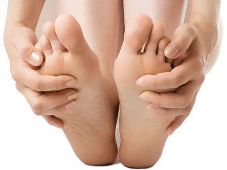 Passo a passo de massagem para os pés