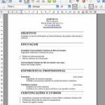 Currículos – como fazer e dois modelos prontos