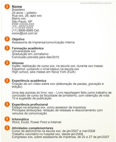 Modelo Currículo - 3