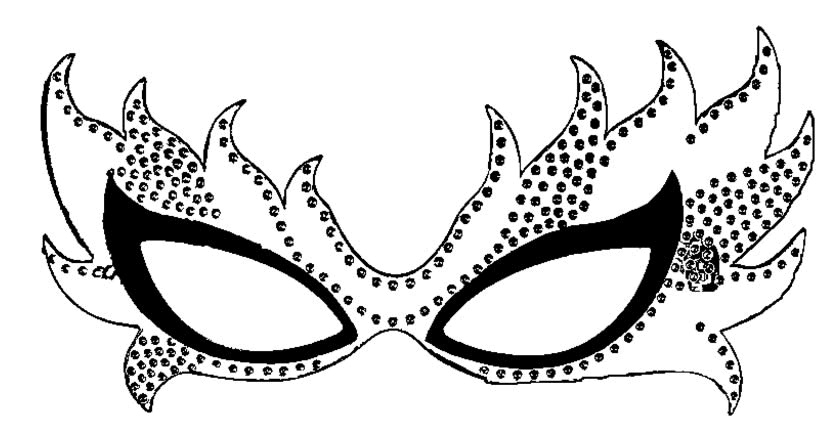 Modelos De Mascaras De Carnaval Para Imprimir