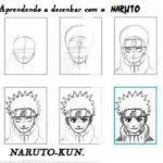 Como desenhar: naruto, goku, vegetto, kakashi, pokemon…