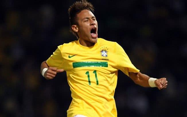 Neymar na Seleção
