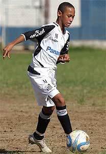 Neymar quando jovem