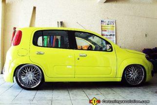 Novo Uno tunado – fotos do carro queridinho do Brasil
