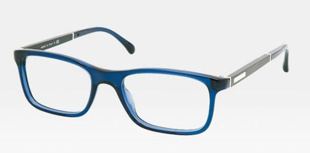 Óculos de Grau Chanel - Azul com preto
