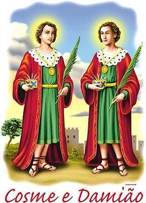 Oração de Cosme e Damião