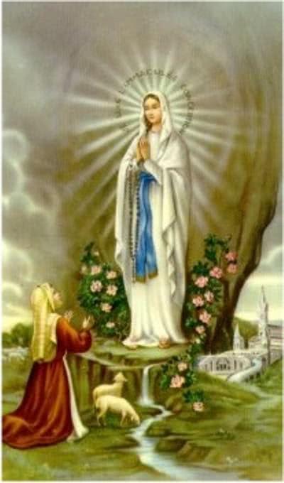 Oração para Nossa Senhora de Lourdes
