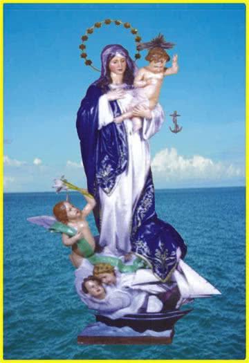 Oração para Nossa Senhora dos Navegantes