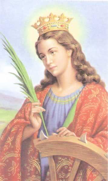 Oração para Santa Catarina