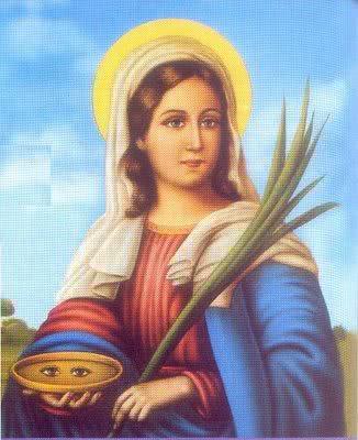 Oração para Santa Luzia