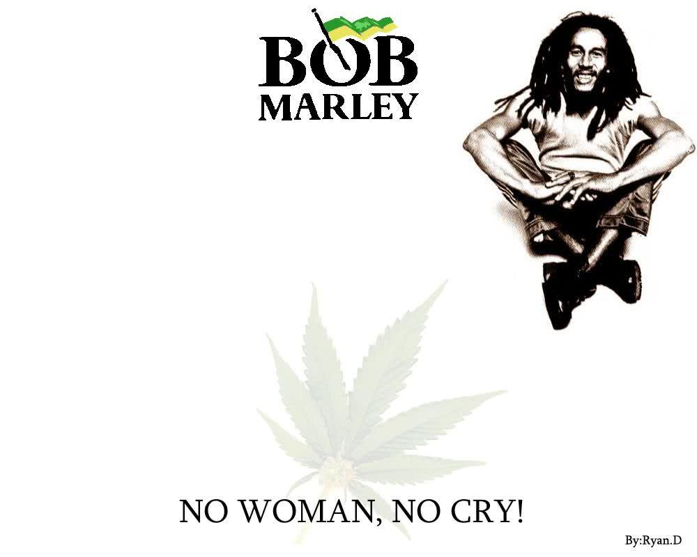 bob marley papel de parede - no woman no cry