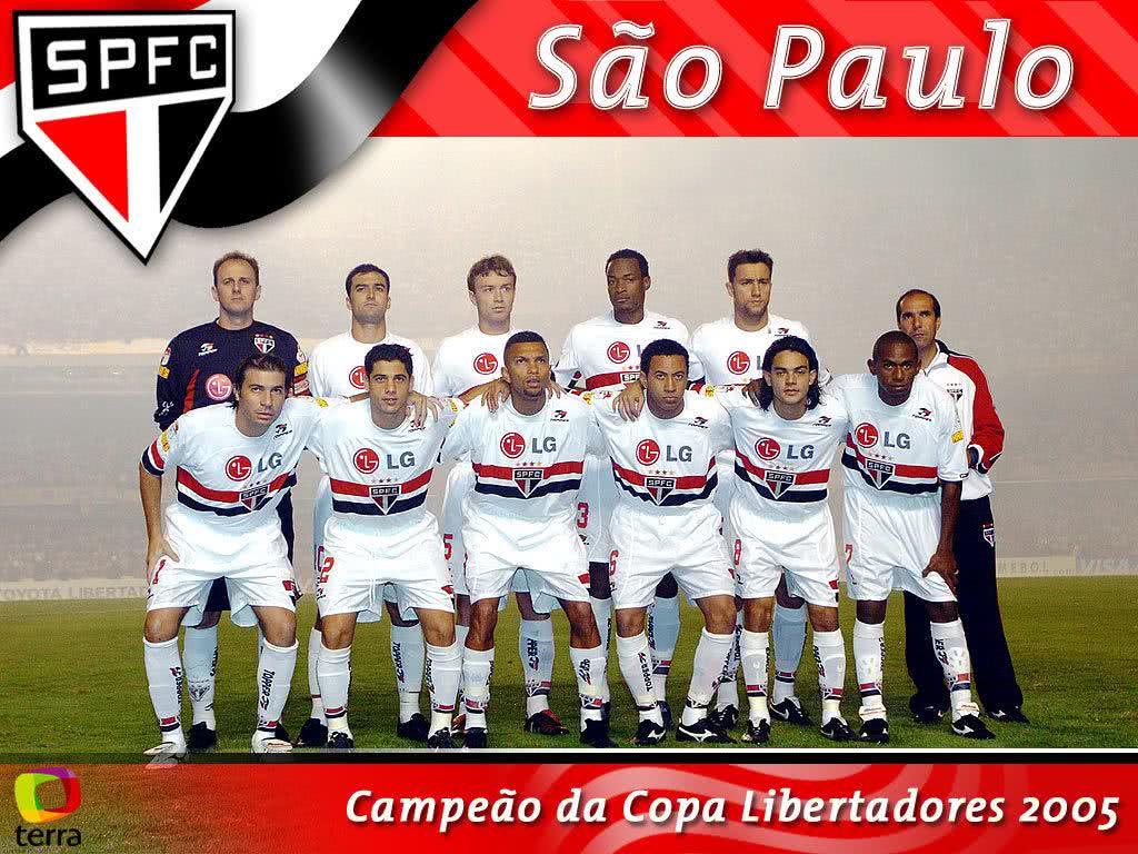 Papel de parede do São Paulo - Libertadores