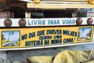Frases de PÁRA-CHOQUE de caminhão