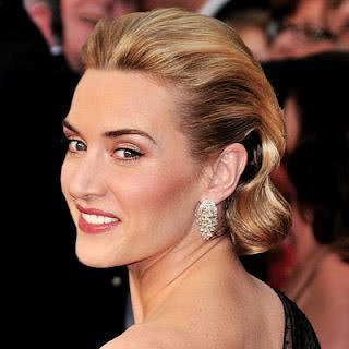Penteado de Kate Winslet