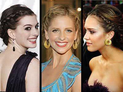 Cabelos das atrizes