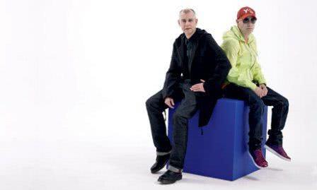 Ensaio fotográfico com Neil e Christopher