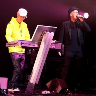 Pet Shop Boys em show