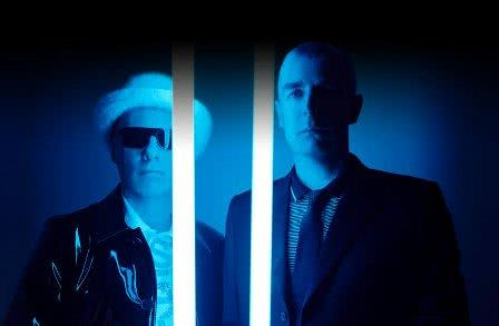Foto da dupla do Pet Shop Boys