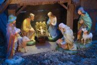 Imagens de presépios natalinos