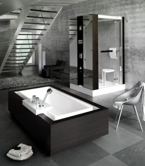 Banheiro glamour
