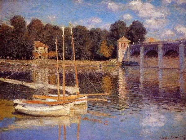 A ponte de Argenteuil (1875)