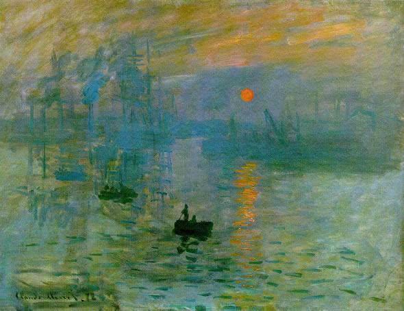 Impressão, nascer do sol (1872)