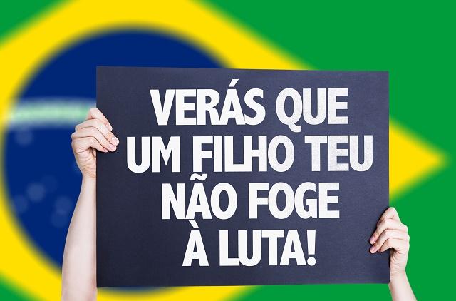 Letra do hino brasileiro