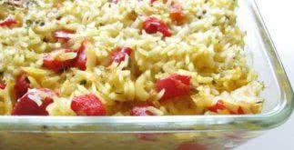Receita de como fazer arroz de bacalhau ao forno
