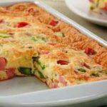 Receita de como fazer omelete de forno