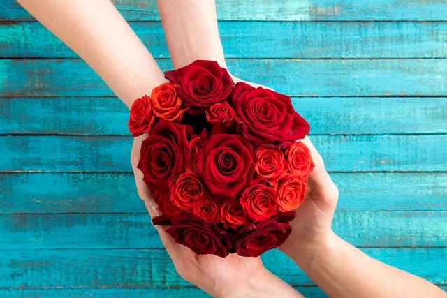Rosas vermelhas