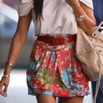 Saias cintura alta – fotos e modelos