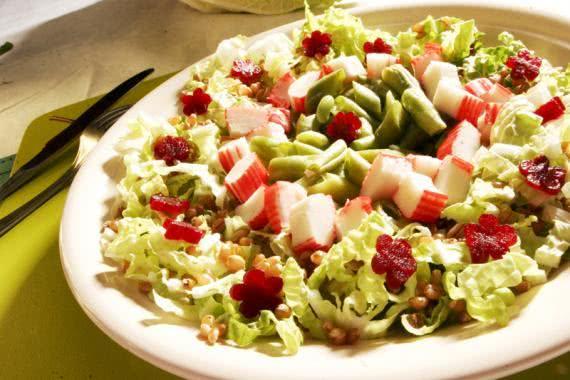 Receitas de saladas de legumes