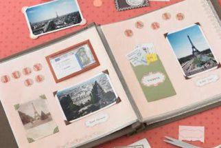 Scrapbook – modelos e dicas para o seu álbum