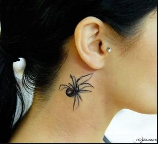Tatuagem de aranha
