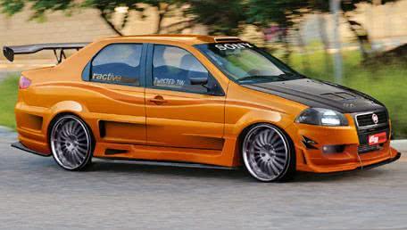 Siena Tunado - laranja e preto