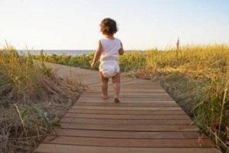 Simpatia para criança andar