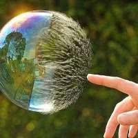 sonhar com bolhas