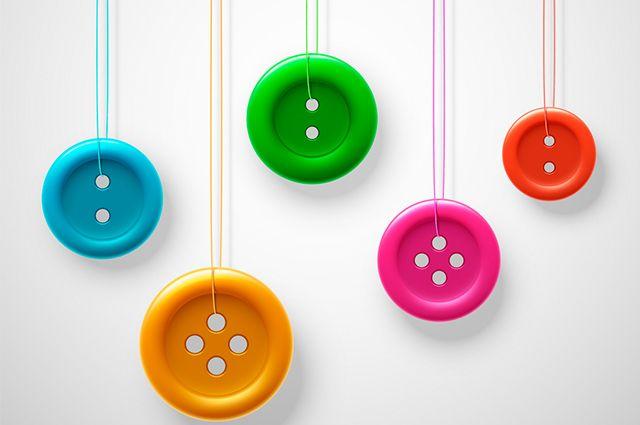 Sonhar com botão