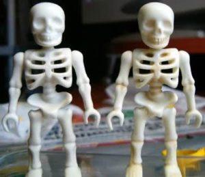 Sonhar com esqueleto