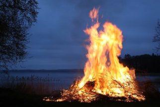 Sonhar com fogueira