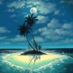 Sonhar com ilha