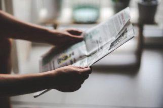 Sonhar com jornal