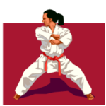 sonhar com karate
