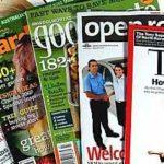 sonhar com revistas