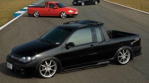 Fiat Strada Preta