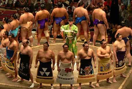 Lutadores de sumô