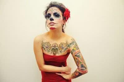 Tattoo muito bizarra