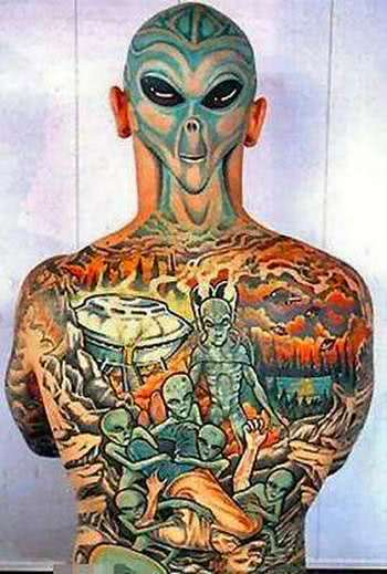 Tattoo de alien